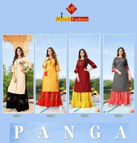 Skin Friendly Designer Ladies Kurti