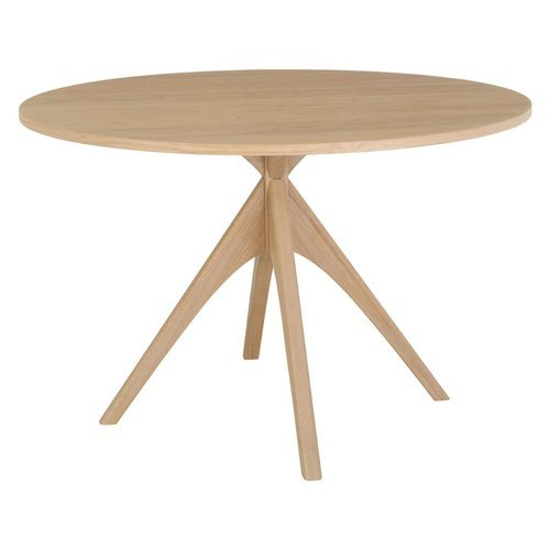 4 Legs Wooden Round Table