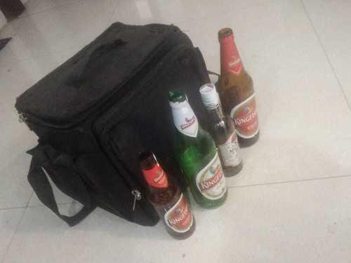 Beer Bottle Insulated Cooler Bag