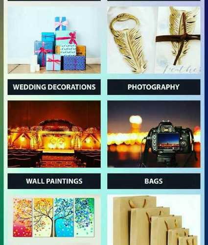 Corporate Gifts Items(Wall Painting, Bags)