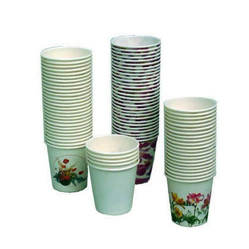 Disposable Printed Paper Tea Cups