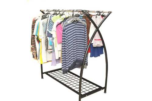 Double Side Hang Able Garment Display Stand