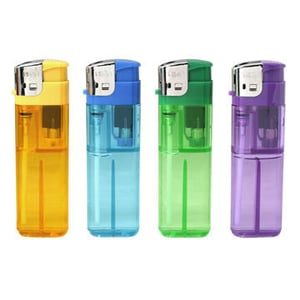 Hot Sell Gas Flint Disposable Lighter With Colored Gas