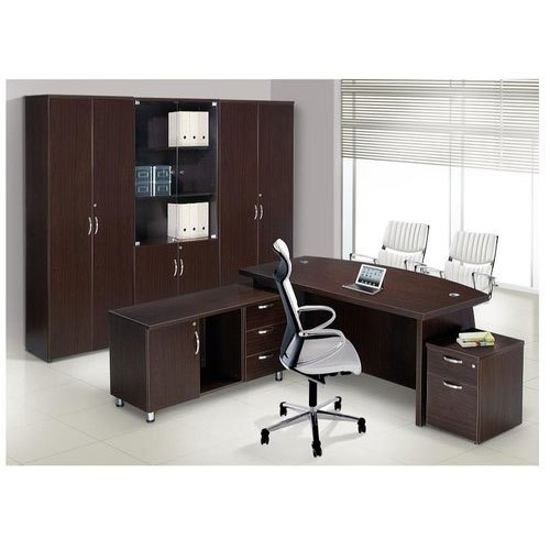 L Shape Director Wooden Office Table