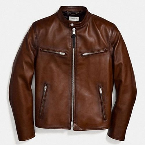 Mens Casual Wear Leather Jacket
