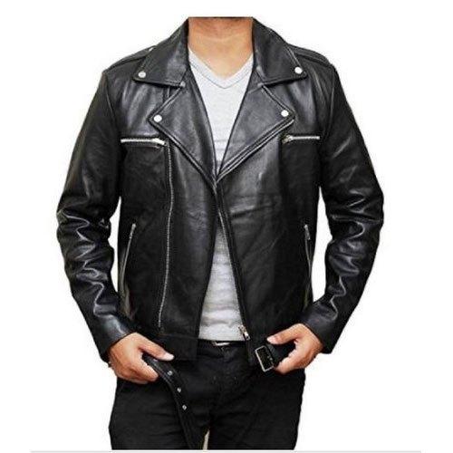Mens Leather Fancy Jacket
