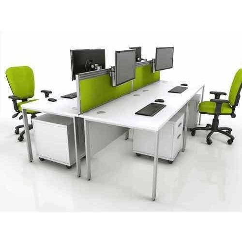 Modular 4 x 2 Feet Wooden Office Workstation