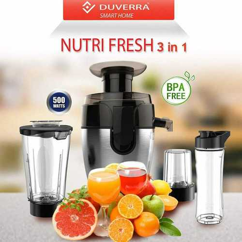 Nutri Fresh 3 In 1 Juicer