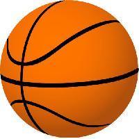Orange And Black Color Basketball