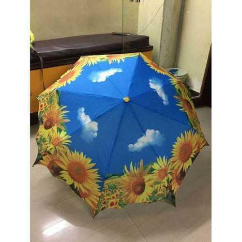 Polyester Stylish Rain Umbrella