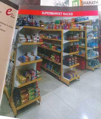 Supermarket 4 Layers Racks