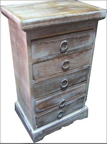 Wooden Jewellery Box with 5 Drawer