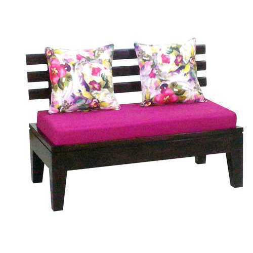 2 Seater Designer Wooden Sofa