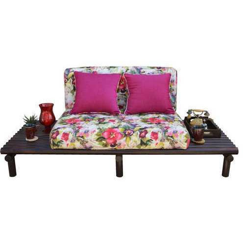 2 Seater Fancy Wooden Furniture Sofa