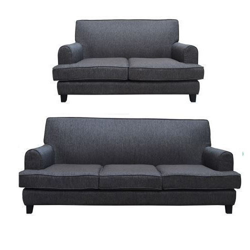 Charcoal Gray 6 Seater Houston Sectional Sofa
