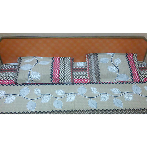 Double Bed Sheets With 2 Pillow Cover
