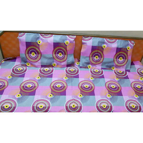 Multi Colored Double Bed Sheets