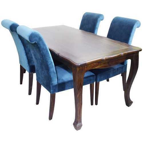 Stylish Wooden Dining Table Set