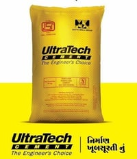 Grey Color Ultratech Cement Powder