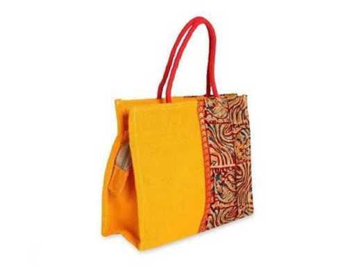 Multicolor Printed Jute Bag