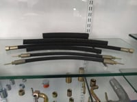 Parker Hydraulic Hose With Crimped End Fitting