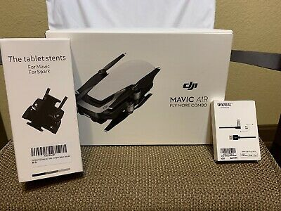 Dji Mavic Air Fly Drone Camera More Combo - Arctic White With Extras Application: Outdoor