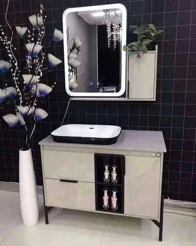 Pvc Dust Proof Vanity Bathroom Cabinets