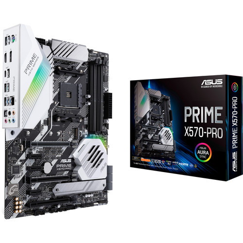 Prime X570-PRO AM4 ATX Motherboard (Asus)