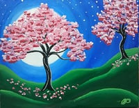 Enchanted Flower Painting