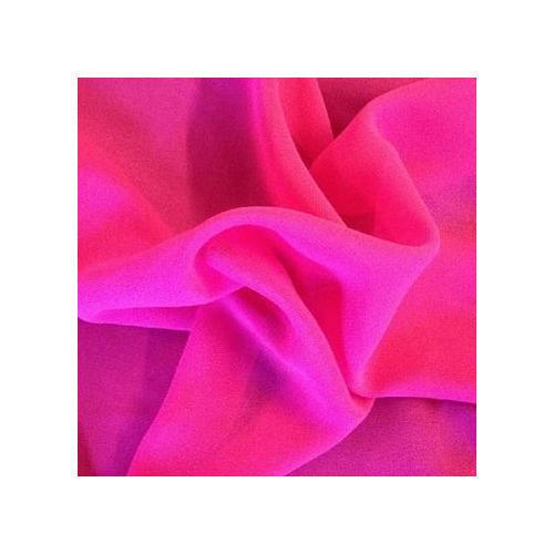 Plain Faux Georgette Fabric