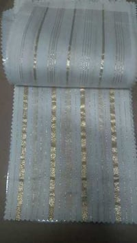 Polyester Embroidered Viscose Fabric