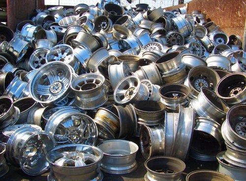 Aluminum Wheel Scrap