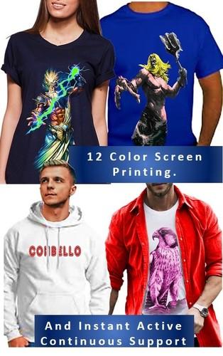 Custom Made T-Shirt With High Quality Fabric