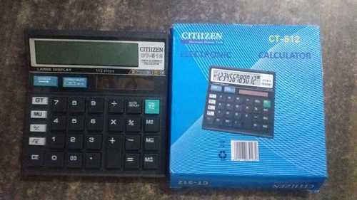 Fully Electronic Calculator, Number Of Digits: 12 Digits