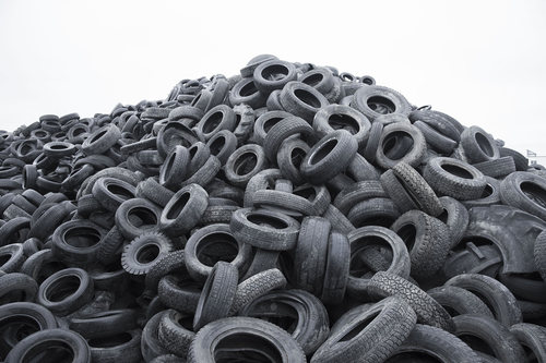 Used Rubber Tyre Scrap