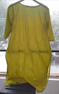 Ladies Cotton Plain Kurta