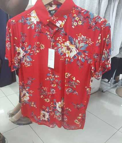 Mens Fashion Printed Shirts
