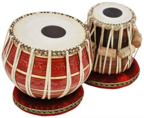 Brown Pure Wooden Tabla Set at Price 8000 INR/Pair in Chennai | ID: 6311383