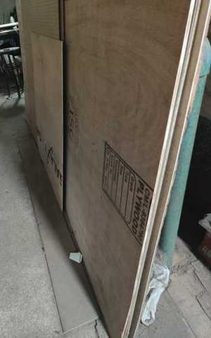 Brown Plain Laminated Plywood, Thickness: 15-20 mm