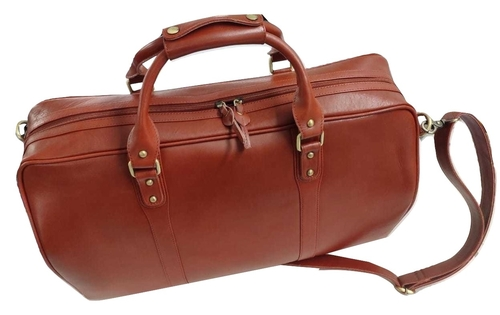 Genuine Leather Duffle Office Bag