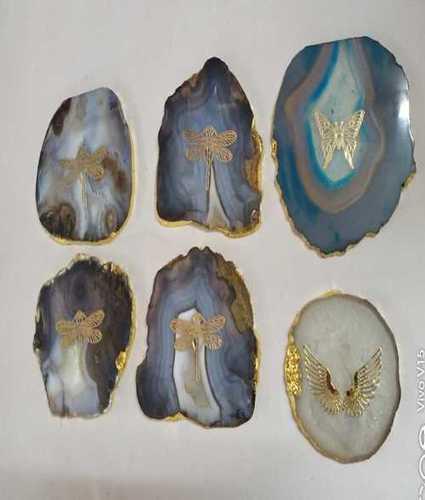 Agate Natural Stone Coaster