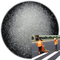 High Reflective Road Marking Glass Beads For Road Traffic Line Marking Paint