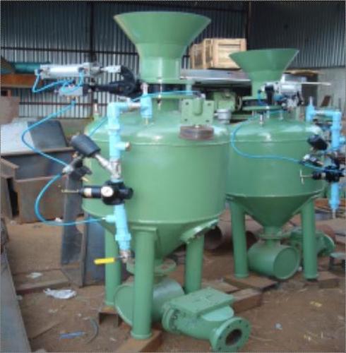 Industrial Pneumatic Conveyor System