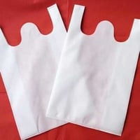 W Cut Non Woven Carry Bags