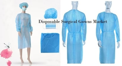 45 Gsm Sms Disposable Surgical Gown Grade: Medical