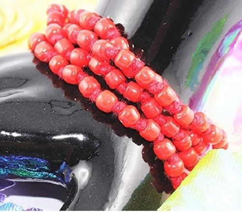 Prayer Jewellery Moonga Mala For Positive Energy