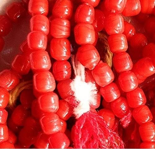 Prayer Jewellery Moonga Mala For Positive Energy