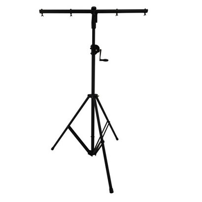 Black Wind Up Pa Lighting Stands Wp-163-2B