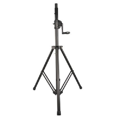 Gray Wind Up Pa Speaker Stands Wp-161B