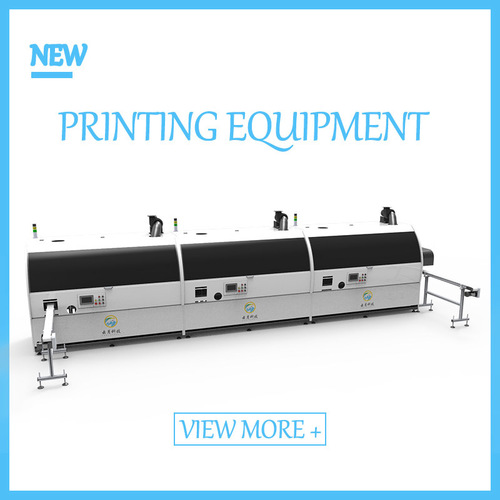 Automatic 3 Colors Versatile Screen Printing Machines